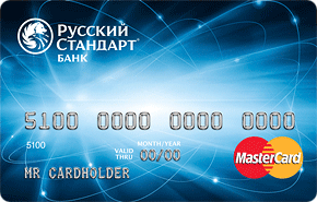 "Кредитная карта ""Классик"" банка ""Русский Стандарт"""