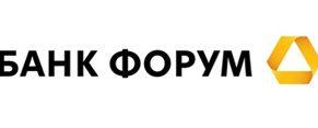 "Логотип банка ""Форум"""