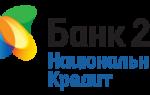 """Логотип банка """"Национальный кредит"""""""