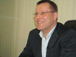 """Петр Крумханзл, глава правления """"Приватбанка""""."""